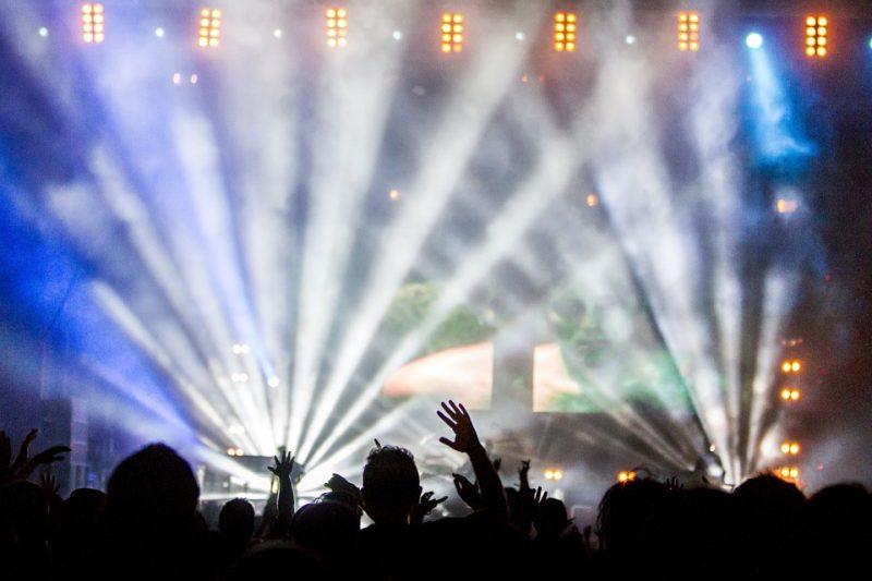 écran géant pour stade en concert
